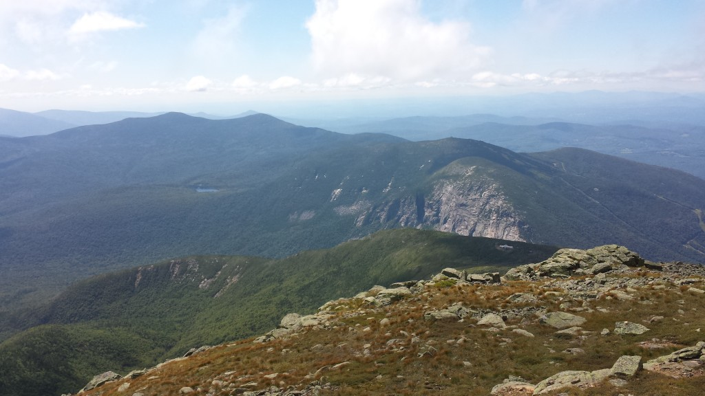 My single favorite part of the AT so far: Franconia Ridge in the White Mountains.