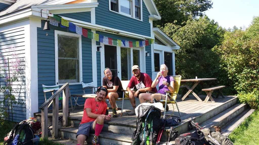 Bill Ackersly's house is right on the AT, and hikers are welcome for free icecream, water, rest, recharge phones, etc.