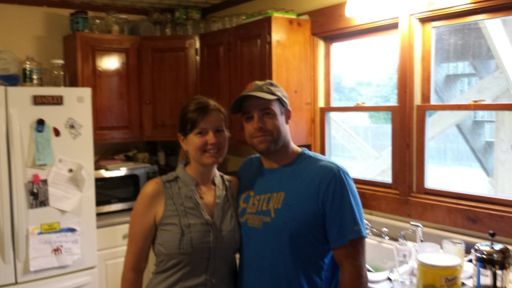 Greg and Laurie- great cooks, hosts, friends!