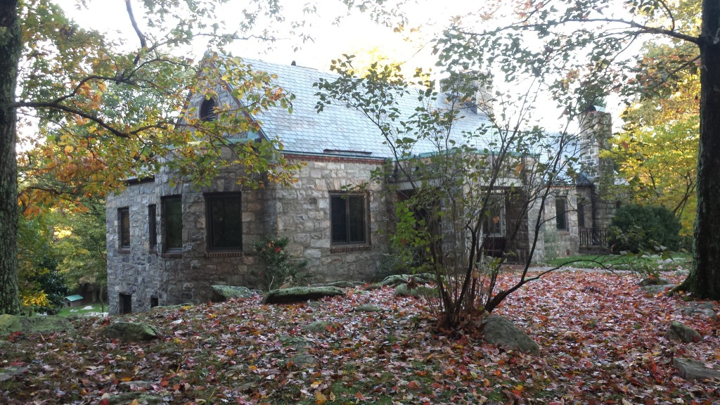 Amazing old stone house that is now the Bears Den  hiker shelter