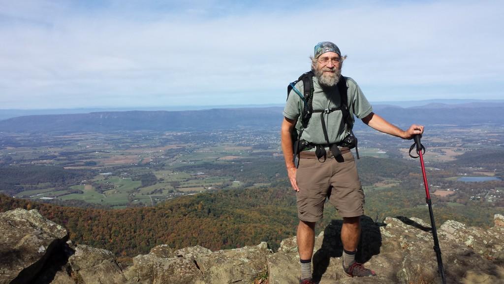 On on a peak in Shenandoah
