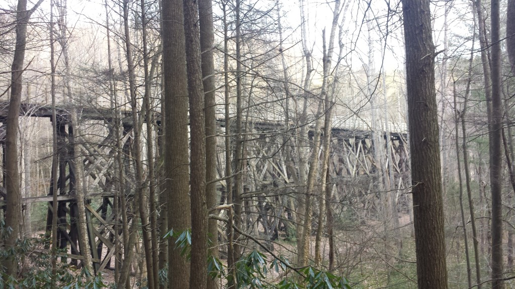 Trestle just north of Damascus