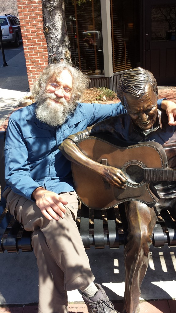 Grooving with Doc Watson in the amazing Boone, NC