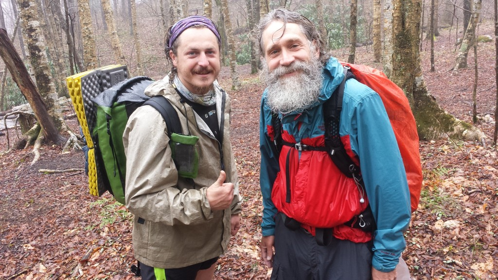 This is the 4th time Finn and I have met on the AT: Maine, Connecticut, New York and now Tennessee. he's been hiking non-stop for 18 months, yoyoing up and down the AT