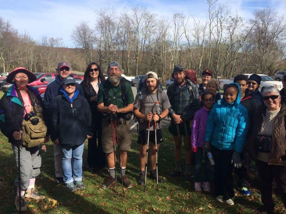 Shenandoah ranger's group